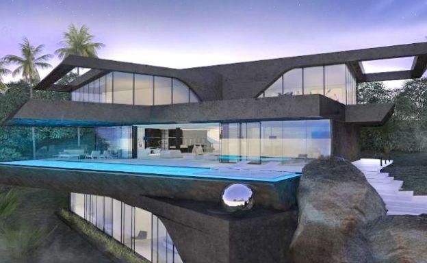 Ultra Modern 3-5 Bedroom Sea View Villas in Bophut