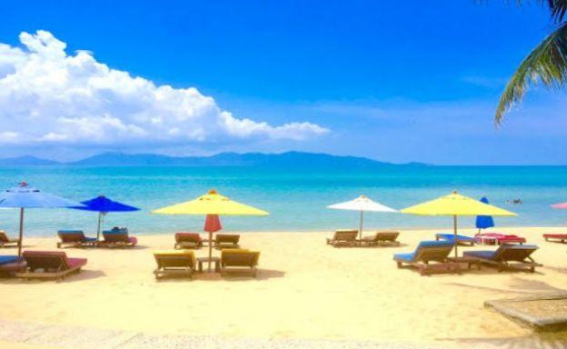 Tropical Beachfront Resort for Sale in Maenam