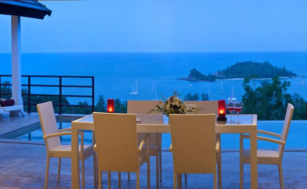 Luxury 4 Bedroom Pool Villa on Choeng Mon Hillside