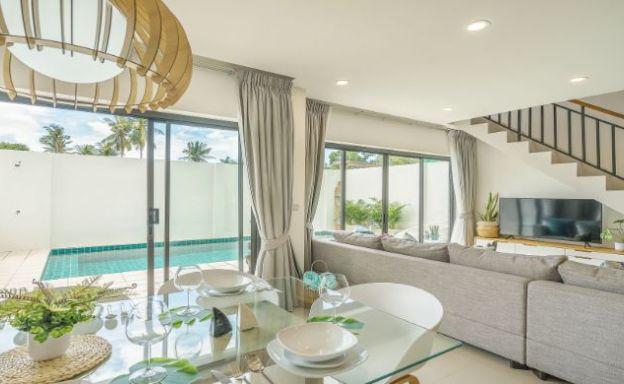 Contemporary 3-4 Bed Private Pool Villas in Plai Laem
