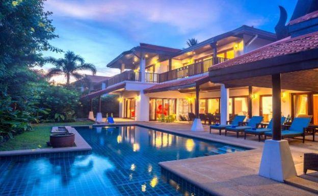 Luxury 5 Bedroom Beachside Pool Villa in Hua Thanon
