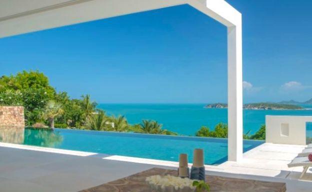 Beautiful 4 Bed Sea View Pool Villa on Choeng Mon