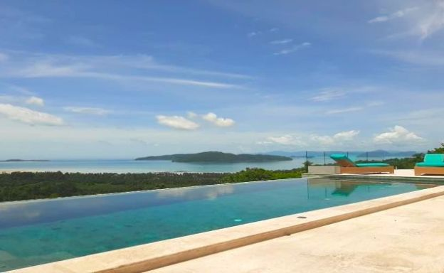 Sumptuous 4 Bed Sea View Pool Villa in Taling Ngam