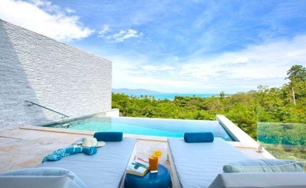 Contemporary 4 Bed Luxury Sea view Villa in Plai Laem