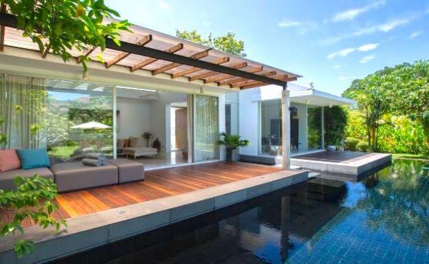 Lovely 2 Bedroom Large Garden Pool Villa in Maenam