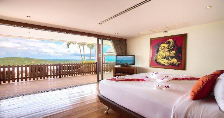 Lavish 5 Bedroom Tropical Sea View Villa in Bophut-9