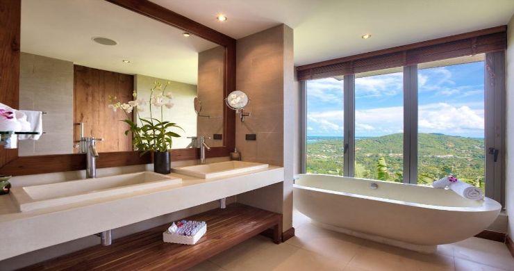 Lavish 5 Bedroom Tropical Sea View Villa in Bophut-14