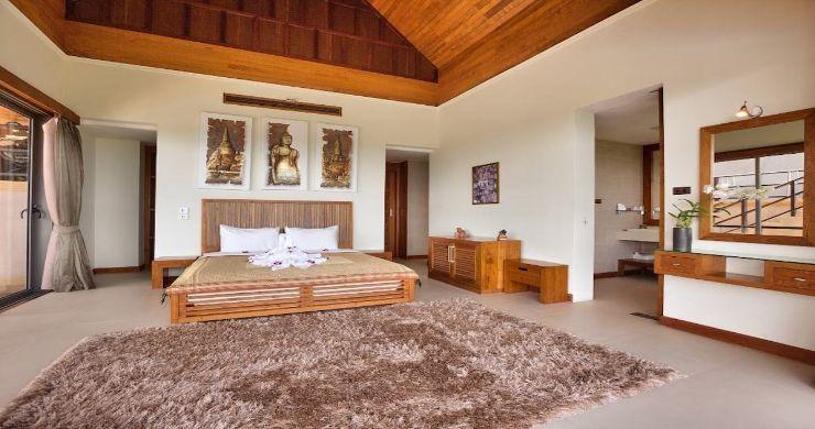 Lavish 5 Bedroom Tropical Sea View Villa in Bophut-13