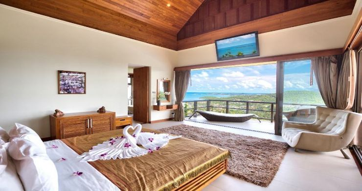 Lavish 5 Bedroom Tropical Sea View Villa in Bophut-11