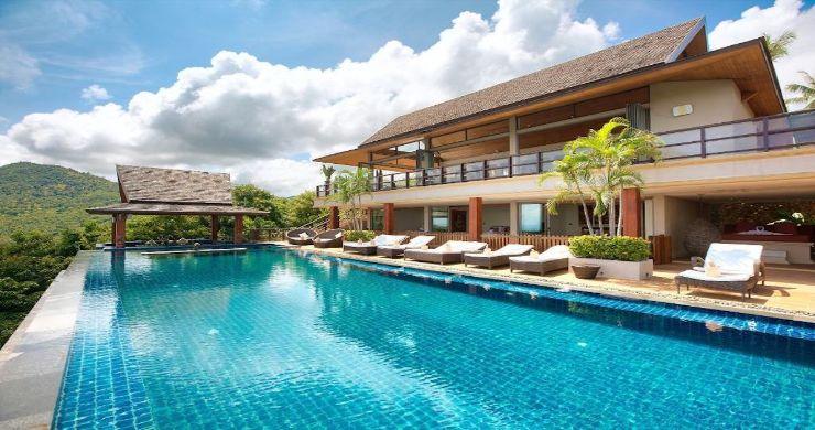 Lavish 5 Bedroom Tropical Sea View Villa in Bophut-2