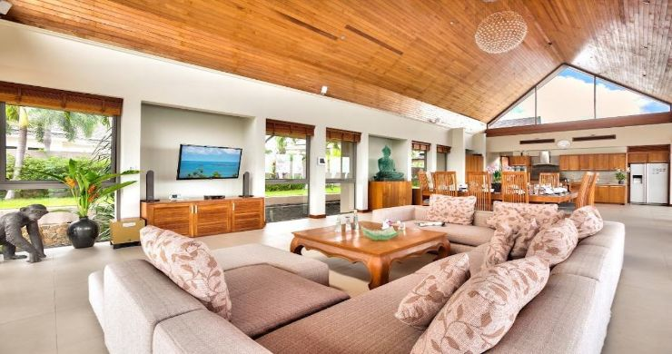 Lavish 5 Bedroom Tropical Sea View Villa in Bophut-4