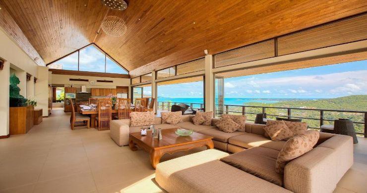 Lavish 5 Bedroom Tropical Sea View Villa in Bophut-5