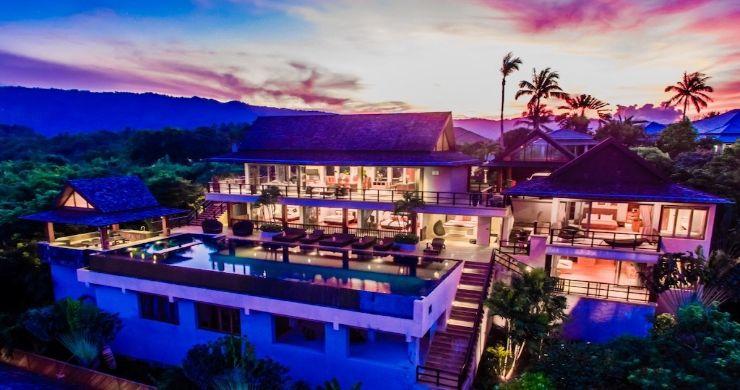 Lavish 5 Bedroom Tropical Sea View Villa in Bophut-16
