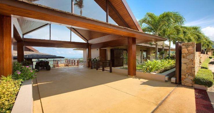 Lavish 5 Bedroom Tropical Sea View Villa in Bophut-6