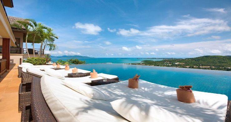 Lavish 5 Bedroom Tropical Sea View Villa in Bophut-3