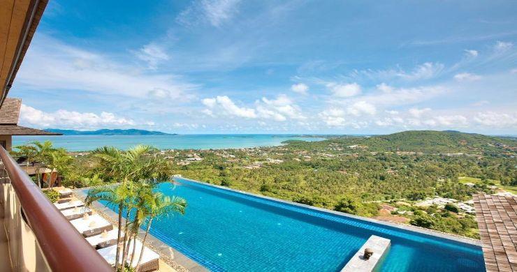 Lavish 5 Bedroom Tropical Sea View Villa in Bophut-8