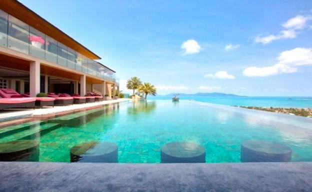 Panoramic 5 Bedroom Luxury Sea View Villa in Bophut