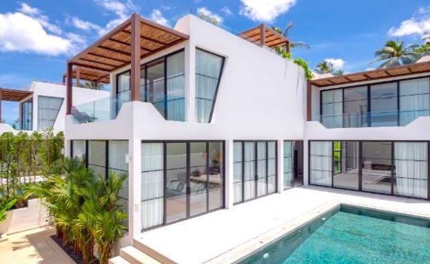 Zen-Style Luxury 3 Bed Seaview villas in Koh Samui