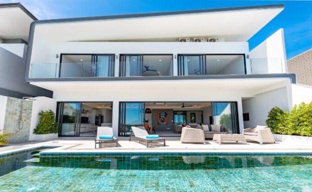 Luxury 3 Bedroom Sea View Pool Villa in Bophut