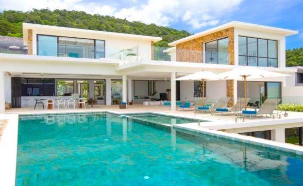 Spectacular 4 Bedroom Sea View Villa in Choeng Mon