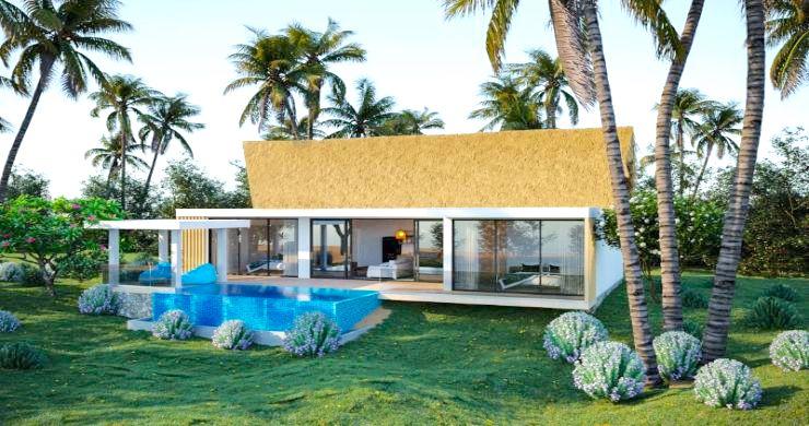 New Eco 2-3 Bed Pool Modern Villas in Koh Phangan-4