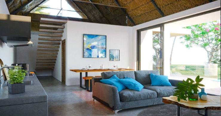 New Eco 2-3 Bed Pool Modern Villas in Koh Phangan-3