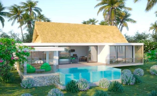 New Eco 2-3 Bed Pool Modern Villas in Koh Phangan