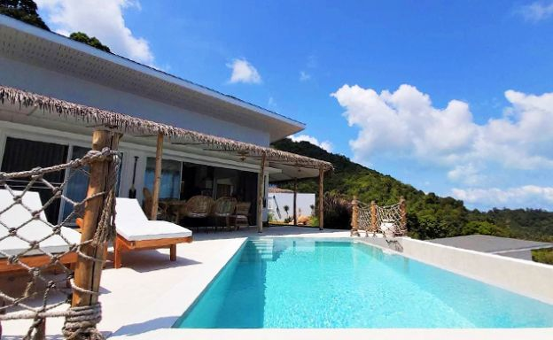 Modern 2-3 Bedroom Sea-view Eco Villas in Chaweng