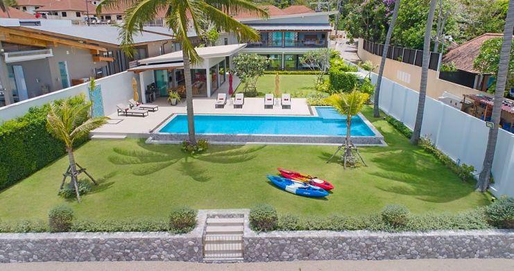 Stunning 4 Bedroom Beachfront Retreat in Laem Sor-23