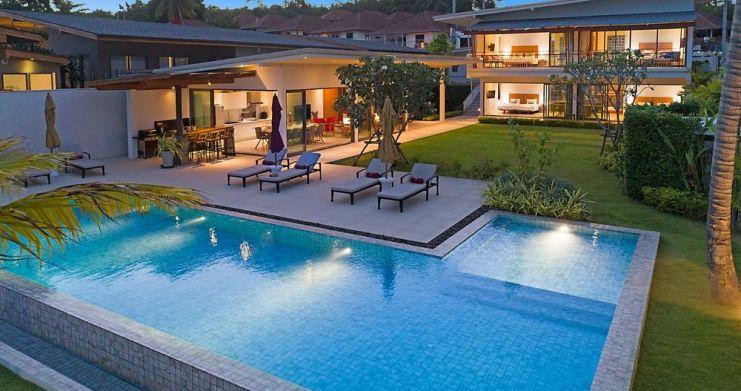 Stunning 4 Bedroom Beachfront Retreat in Laem Sor-21