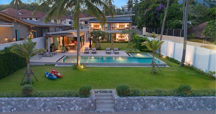 Stunning 4 Bedroom Beachfront Retreat in Laem Sor-22