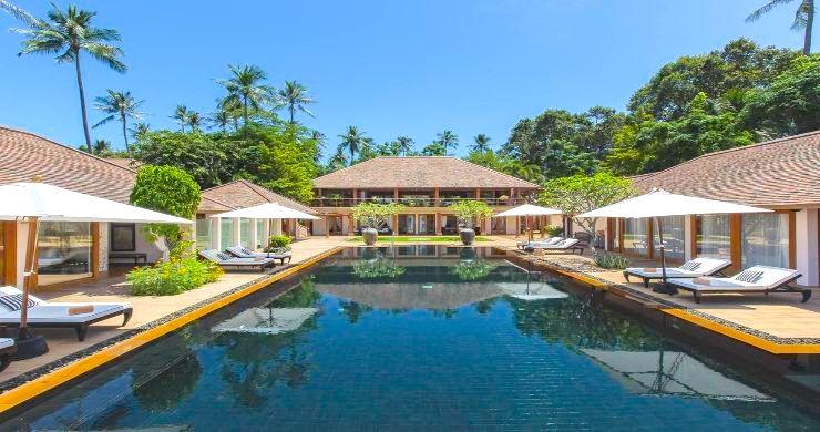 Magnificent 6 Bedroom Beachfront Villa in Laem Sor-1