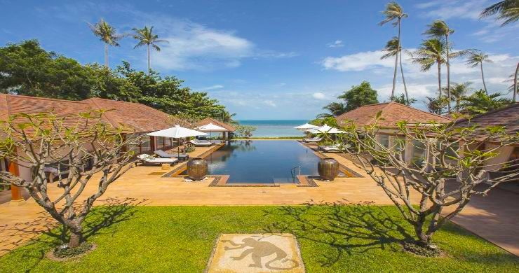 Magnificent 6 Bedroom Beachfront Villa in Laem Sor-19