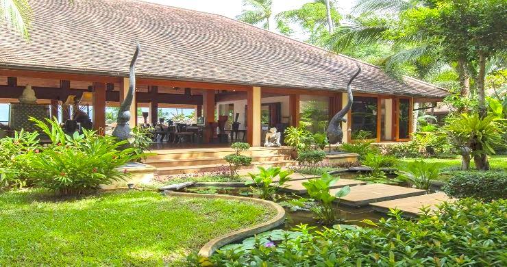 Magnificent 6 Bedroom Beachfront Villa in Laem Sor-17