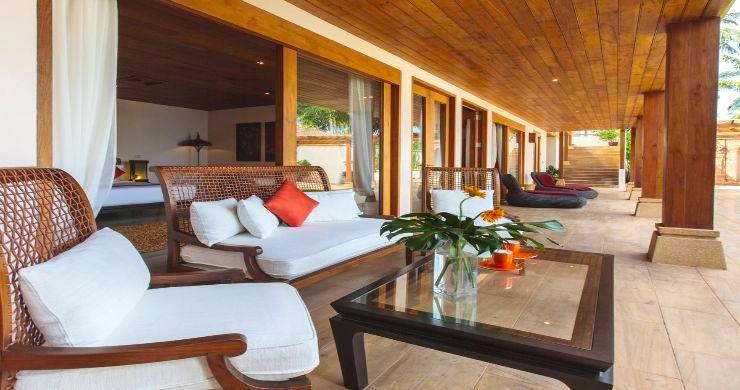 Magnificent 6 Bedroom Beachfront Villa in Laem Sor-4