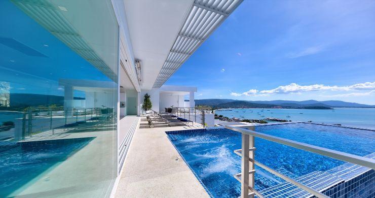 Sleek Designer 4 Bed Sea View Villa in Big Buddha-9