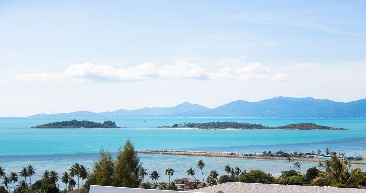 Sleek Designer 4 Bed Sea View Villa in Big Buddha-23