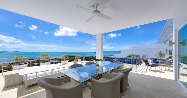 Sleek Designer 4 Bed Sea View Villa in Big Buddha-2