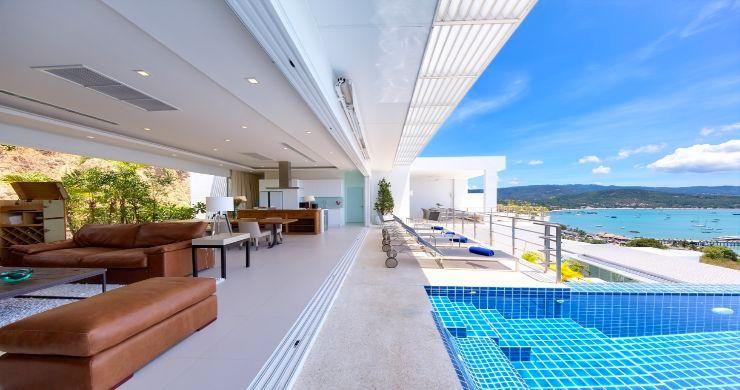 Sleek Designer 4 Bed Sea View Villa in Big Buddha-1