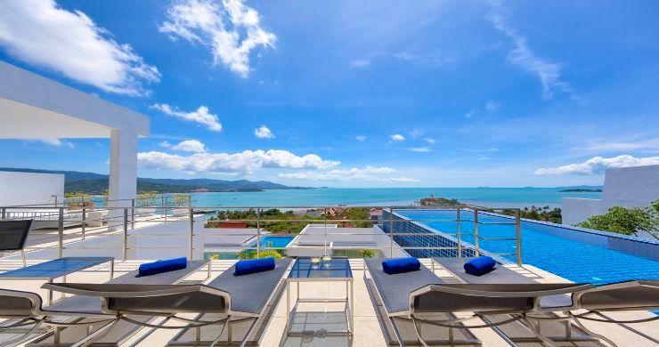 Sleek Designer 4 Bed Sea View Villa in Big Buddha-7