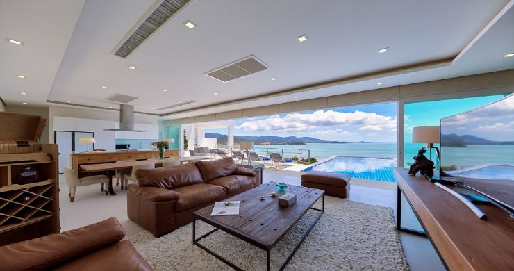Sleek Designer 4 Bed Sea View Villa in Big Buddha-3