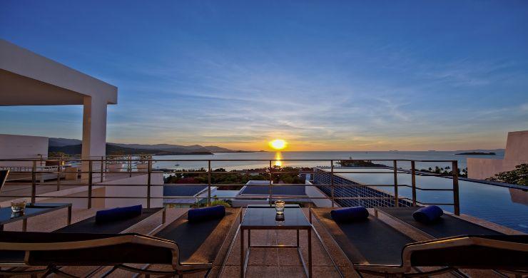Sleek Designer 4 Bed Sea View Villa in Big Buddha-22