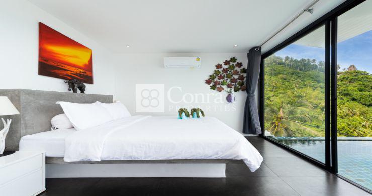 Stylish 2 Bedroom Sea View Pool Apartments in Lamai-10