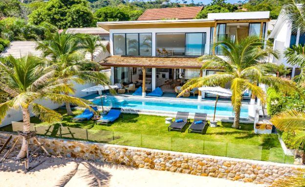 Contemporary 5 Bedroom Beachfront Villa in Bang Por