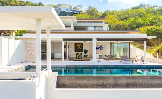 Sleek Designer 4 Bedroom Sea View Villa in Bophut
