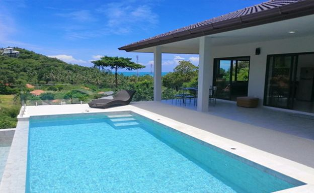 Modern 3 Bedroom Pool Villa for Sale in Maenam