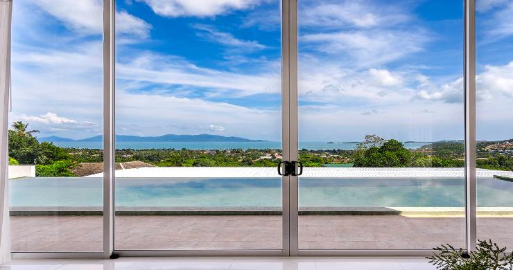 Stunning 3 Bedroom Sea View Villa for Sale in Bophut-15