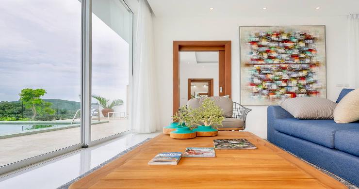 Stunning 3 Bedroom Sea View Villa for Sale in Bophut-8