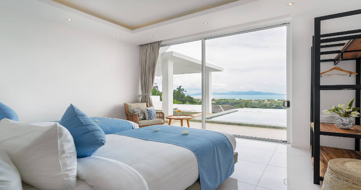 Stunning 3 Bedroom Sea View Villa for Sale in Bophut-12