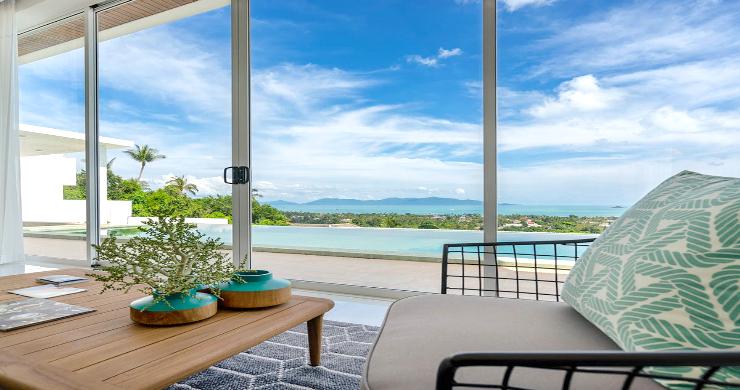 Stunning 3 Bedroom Sea View Villa for Sale in Bophut-3